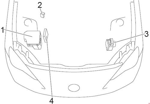 2013-2018 Subaru BRZ Fuse Box Diagram