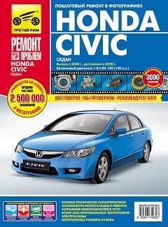 Расположение предохранителей Honda Civic 4D девятого поколения