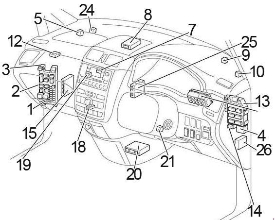 Toyota ipsum wiring diagram worksheet and