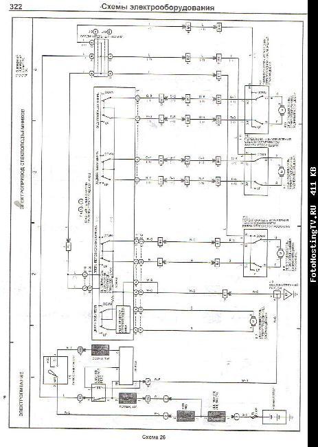 Схемы электрооборудования TOYOTA LAND CRUISER 90 PRADO 1996-2002