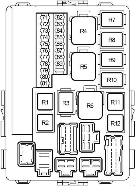 02-'07 Nissan Murano Z50 Fuse Box Diagram | Murano Fuse Box |  | knigaproavto.ru