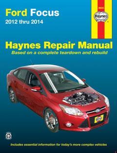 Ford Focus (12-14) Haynes Repair Manual