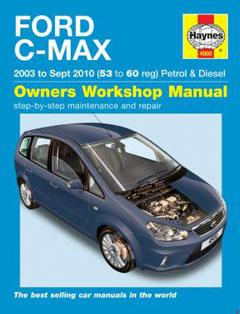 ford c-max petrol & diesel (03 - 10) haynes repair manual � fuse box diagram  �