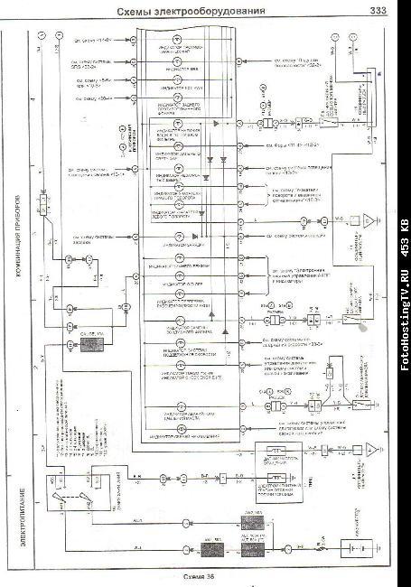 Схемы проводки toyota land cruiser