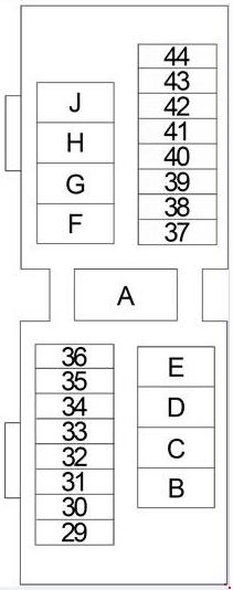 1999-2004 nissan xterra fuse box diagram