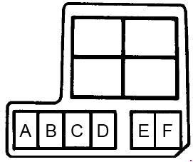1989 1994 suzuki swift (cultus) fuse box diagram fuse diagram1989 1994  suzuki swift (