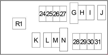 2004-2014 nissan frontier fuse box diagram