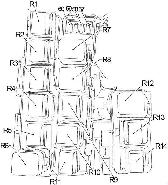 05 14    Nissan       Xterra       Fuse       Box       Diagram