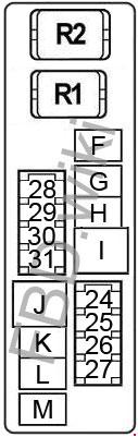 2007-2012 nissan altima fuse box diagram