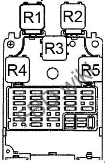 1998-2001 nissan altima fuse box diagram