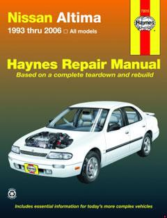 Nissan Altima (93-06) for Altima Haynes Repair Manual
