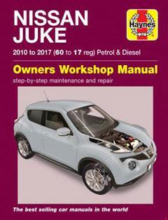 nissan juke (10 - 17) haynes repair manual � fuse box diagram �