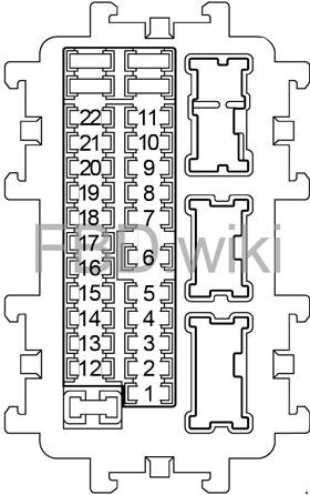 fuse box for 2009 nissan murano  wiring diagram load