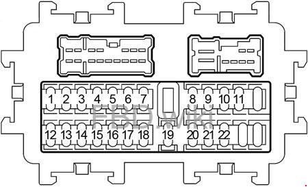 2003 2008 nissan 350z fuse box diagram fuse diagram. Black Bedroom Furniture Sets. Home Design Ideas