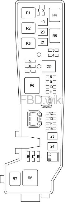 [DIAGRAM_4PO]  03-'08 Toyota Corolla (USA) Fuse Box Diagram | 2007 Toyota Corolla Fuse Panel Diagram |  | knigaproavto.ru
