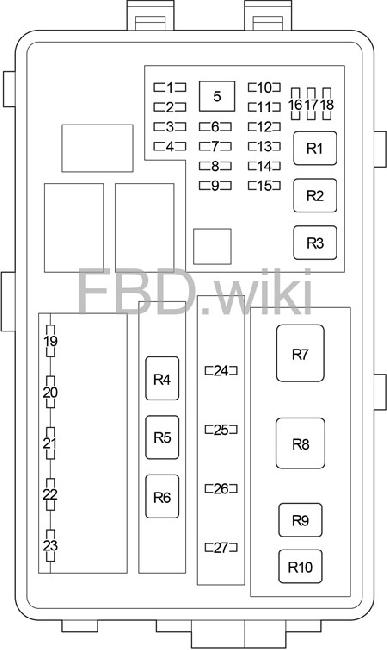 2006-2013 lexus is 250, 300, 350, 220d fuse box diagram ... lexus is 350 fuse box diagram 2006 lexus is 250 fuse box diagram