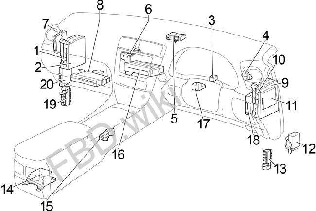 t21572_knigaproavtoru11073314 2006 2013 lexus is 250, 300, 350, 220d fuse box diagram fuse diagram