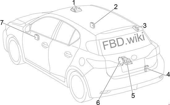 lexus ct 200h fuse box diagram