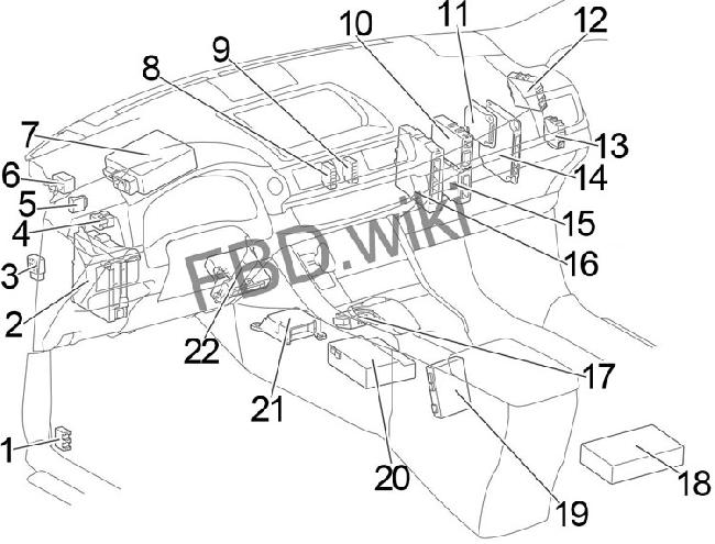 11-'17 lexus ct 200h fuse box diagram  knigaproavto.ru