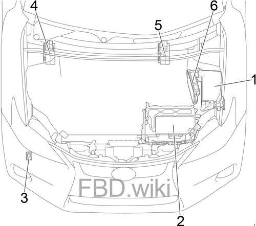 11-'17 Lexus CT 200h Fuse Box Diagram | 2014 Lexus Ct 200h Fuse Box Diagram |  | knigaproavto.ru