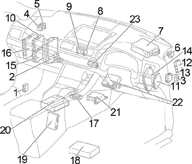 Lexus Ct 200h Wiring Diagram