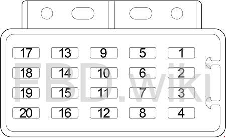 97-'06 Jeep Wrangler TJ Fuse Box Diagram | 1998 Jeep Wrangler Fuse Panel Diagram |  | knigaproavto.ru