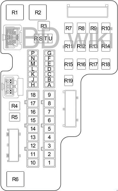 00-'04 Dodge Dakota Fuse Diagram | 2002 Dodge Dakota Fuse Box Diagram |  | knigaproavto.ru