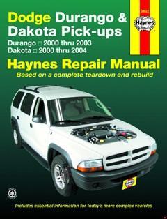 dodge dakota & durango haynes repair manual