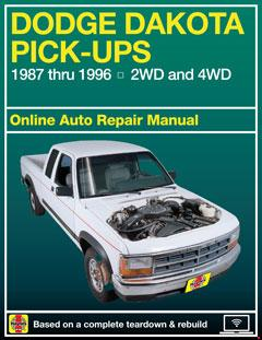 dodge dakota haynes repair manual � fuse box
