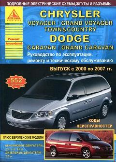 Схема предохранителей Dodge Caravan, Chrysler Voyager и Town & Country (2003-2007)