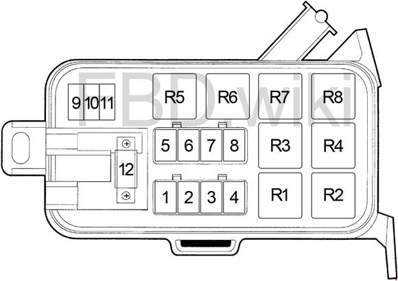 94-'01 Dodge Ram 1500, 2500, 3500 Fuse Diagram | 2002 Dodge Ram 2500 Sel Fuse Box |  | knigaproavto.ru