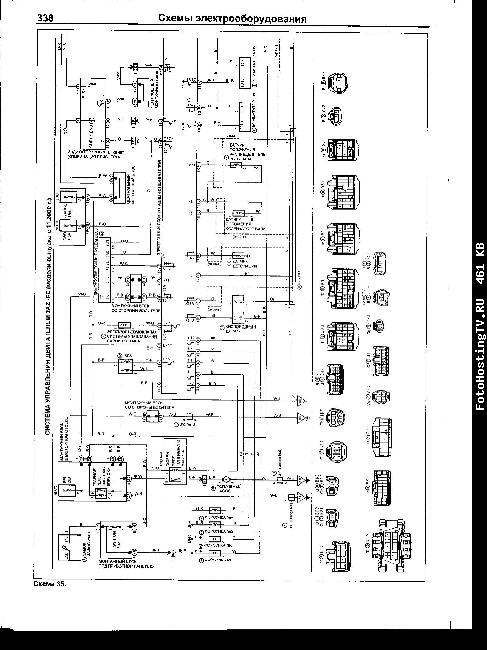 Схемы электрооборудования TOYOTA HARRIER 1997-2003