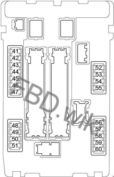 [ZSVE_7041]  06-'15 Infiniti G35, G37, G25, Q40 Fuse Box Diagram | Infiniti G37 Fuse Box Diagram |  | knigaproavto.ru
