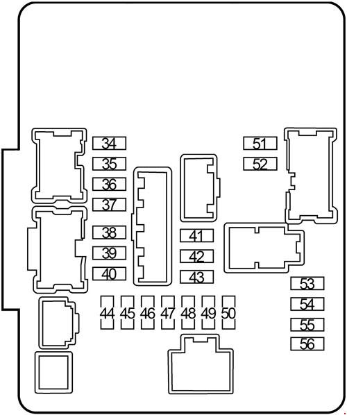 [TBQL_4184]  Infiniti JX35 & QX60 (2012-2017) Fuse Box Diagram   Infiniti Jx35 Fuse Box      knigaproavto.ru