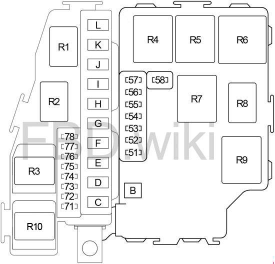 [DIAGRAM_3US]  Infiniti Q45 (F50; 2002-2006) Fuse Box Diagram | Mercadies Q45 Fuse Box 2008 |  | knigaproavto.ru