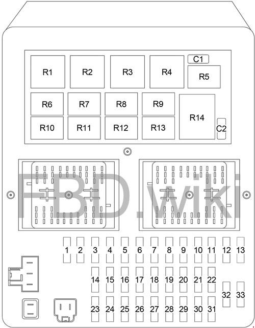 99-'04 jeep grand cherokee wj fuse box diagram  knigaproavto.ru
