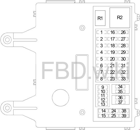 02-'07 jeep liberty kj fuse box diagram  knigaproavto.ru