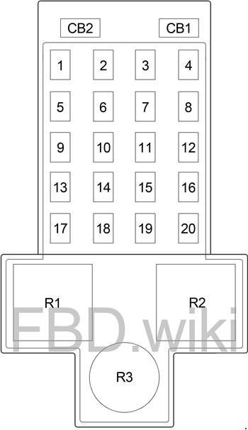 chrysler pt cruiser fuse box diagram  knigaproavto.ru
