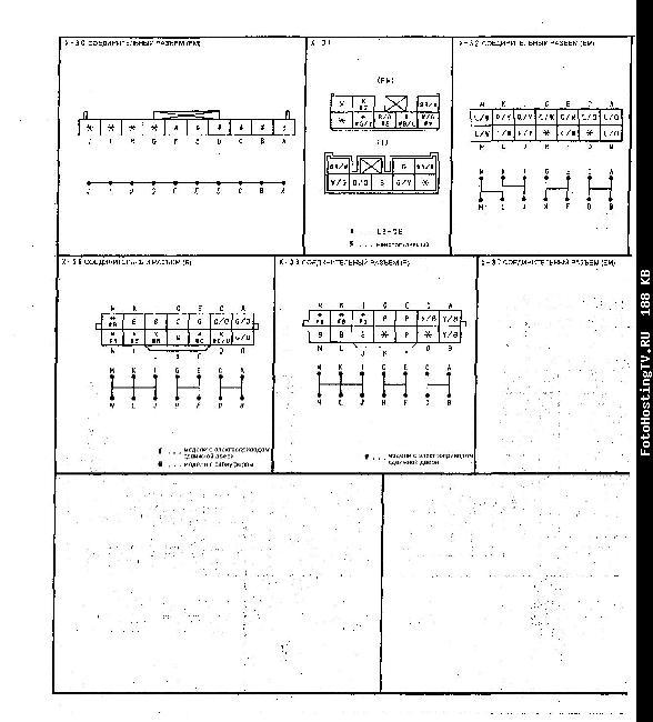 Схемы электрооборудования MAZDA MPV 2002-2006