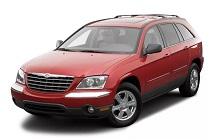 2004-2008 Chrysler Pacifica Fuse Box Diagram