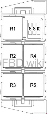 07-'12 Dodge Caliber Fuse Box Diagramknigaproavto.ru