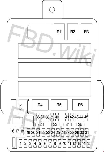 2012-2016 honda cr-v fuse box diagram  knigaproavto.ru