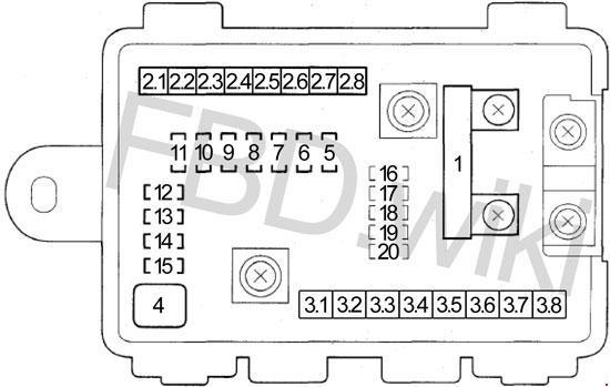 [DIAGRAM_38DE]  Acura MDX (2007-2013) Fuse Box Diagram   2008 Acura Mdx Fuse Diagram      knigaproavto.ru