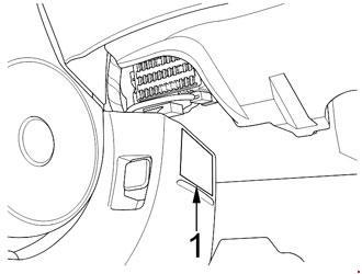 Схема предохранителей Acura CSX (2005-2011)
