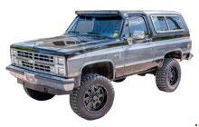 1982-1991 Chevrolet K5 Blazer & GMC Jimmy Fuse Box Diagram