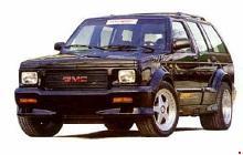 1982-1994 Chevy Blazer, GMC Jimmy & Typhoon, Oldsmobile Bravada Fuse Box Diagram