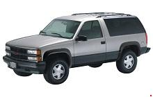 1992-1994 K1500 Chevrolet Blazer and GMC Yukon Fuse Box Diagram
