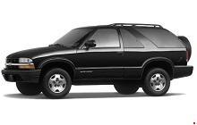 1995-2005 Chevy Blazer, GMC Jimmy Fuse Box Diagram