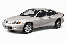 1995-2005 Chevrolet Cavalier and Pontiac Sunfire Fuse Box Diagram