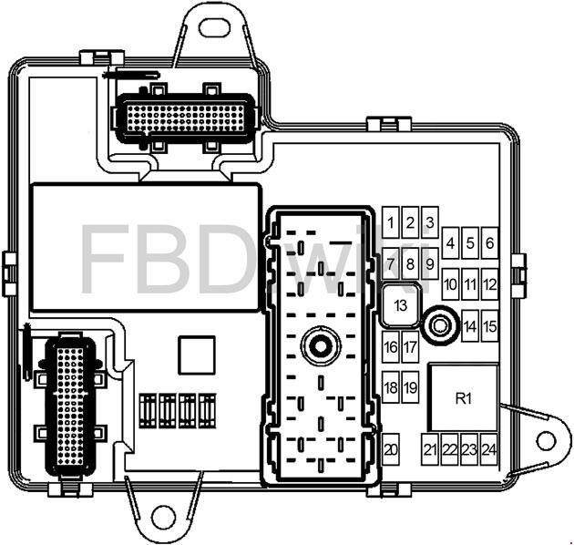 [SCHEMATICS_4NL]  2004-2007 Chevrolet Malibu Fuse Box Diagram | 04 Malibu Fuse Box Location |  | knigaproavto.ru